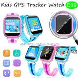 Bunte grosse Touch Screen GPS-Verfolger-Uhr für Kinder (D19)