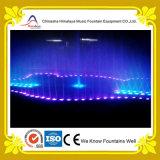 Fonte seca projetada especial com luzes e os bocais Underfloor
