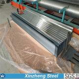 (0.13mm-2.0mm)鋼鉄屋根ふき材料か電流を通された波形の屋根ふきシート