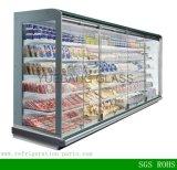 Glastür-Reichweite in der Kühlvorrichtung