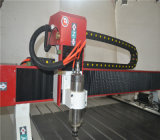 良質木またはアクリルかアルミニウムCNC機械3D木製CNCのルーター