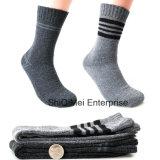 Heißer Verkaufs-Qualitäts-Mann-Winter-thermische Terry-Socken