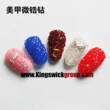 2017 New Fashion Japan 1.2mm Micro Mini Zircon Rhinestones Nail Art Decorações Tiny Crystal Nail jewelery