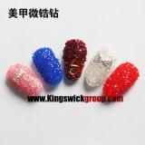 2017 Nieuwe Manier Japan 1.2mm juwelen van de Spijker van het Kristal van de Decoratie van de Kunst van de Micro- MiniSpijker van Bergkristallen Zircon Uiterst kleine