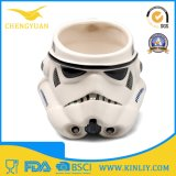 Caneca de café cerâmica poderosa do copo de chá de Star Wars com tampa