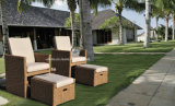 Outdoor를 위한 가장 정밀한 Modern Wicker Furniture