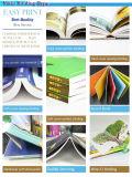 O caderno maravilhoso gira qualidade da impressão barata da impressão do livro do memorando a boa