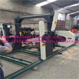 切断のための携帯用帯鋸の水平の製材所の木製機械