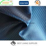 Fabbrica del tessuto del rivestimento del vestito dei 100 del poliestere del rivestimento uomini del tessuto