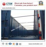 Chinesische Hersteller Tri-Welle trockener Van/Kasten-halb LKW-Schlussteil