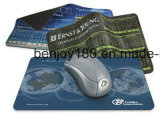 Pantalla de limpieza de microfibra alfombrilla de ratón con la impresión personalizada