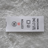 Ярлыки размера печатание Китая Ханчжоу для одежды
