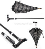 Ломкая Двойн-цель Walking Stick Umbrella с Adjustable Handle (SU-0023AAFH)