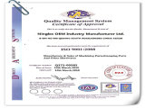 Tellersegment Schieben-Metal Fabrication mit ISO 9001 Quality Level ein