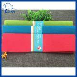 couvre-tapis de séchage d'assiette de Microfiber de couleur solide de 38*51cm (QHSD99078)