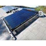 Coletor térmico solar da tubulação de calor