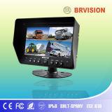 """le """" moniteur du TFT LCD 7 avec l'appareil-photo deux a entré (BR-TM7001)"""