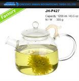 бессвинцовый стеклянный чайник чая 400-1200ml с стеклянным фильтром