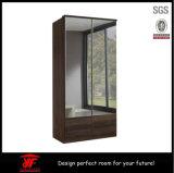 رخيصة متأخّر غرفة نوم [سليد دوور] خزانة ثوب تصميم مع مرآة