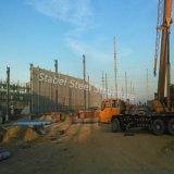 Almacén modular de la estructura de acero del bajo costo hecho en China