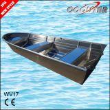 Al Gelaste Boot van het Aluminium met Vierkante Gunwale