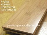 Tecleo o suelo de bambú tejido trenzado T&G