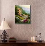Paysage classique avec maison Villave