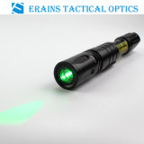 100MW Strobe Function GreenレーザーDazzling Designator Illuminator Torch SightのTacticalの零下長間隔Riflescope Night Vision Solution