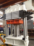 Maquinaria de borracha da imprensa quente para componentes moldados