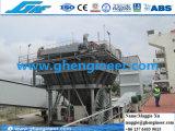 Staubdichter Zufuhrbehälter auf Kanal für Massenmaterial