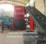 Gummipuder-Maschinerie-Reifen zurückgeforderte Gummiaufbereitenmaschine für verwendeten Reifen