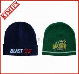 Chapeau tricoté par promotion acrylique de jacquard de l'hiver
