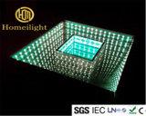 Illusion-Panel-Spiegel-Unbegrenztheit mit ausgeglichenem Glas 3in1 RGB SMD5050 3D LED Dance Floor des Abgrund-Effekt-10mm
