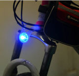 Lumière arrière d'avertissement des silicones DEL de batterie de sûreté neuve