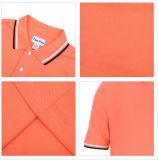 Chemises 100% de polo ordinaires de coton de piqué des hommes 200GSM