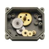 Maneira 2 válvula elétrica de bronze motorizada da água da válvula de esfera de 1-1/4 '' com manual (T32-B2-B)