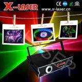 2W RGB Volledige Licht van de Laser 2d/3D van de Animatie Withsd+ van de Kleur toont, het OpenluchtLicht van het Stadium Light/DJ voor Verkoop van x-Laser