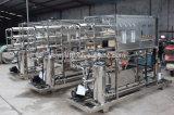 Impianto di per il trattamento dell'acqua minerale della pianta acquatica