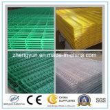 El panel soldado galvanizado y PVC cubierto del mejor precio de alambre de acoplamiento
