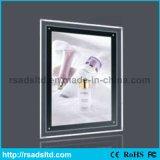 Customed Größe, die hellen Kasten des Kristall-LED für Verkauf bekanntmacht