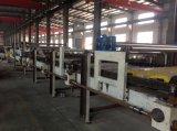 Chauffage de vapeur automatique machine ondulée de fabrication de cartons de 5 plis