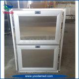 Refrigerador de morgue funeral de seis corpos para cadáveres