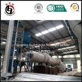Construção de planta ativada do carbono do coco do projeto escudo filipino