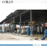 pianta di riciclaggio del petrolio greggio 10tpd che ottiene Farction diesel