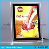 Super Slim LED Acrylique Crystal Light Box Cadre
