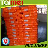Flama - encerado laminado PVC do retardador com UV tratado