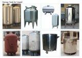 El tanque de almacenaje del acero inoxidable (hecho por encargo)