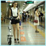 Складчатости колеса мотора 2 новых продуктов 2016 Bike безщеточной миниой электрический карманный