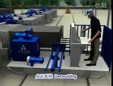 La tecnología avanzada AAC bloquea el proceso de fabricación para bloques más baratos de AAC