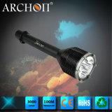 Archon W39のクリー語LED Xm-L T6 3000の内腔の潜水の懐中電燈